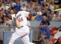 Dodgers' Puig benched for lack of hustle