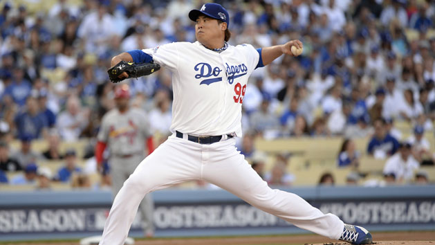 Dodgers shut down LHP Ryu