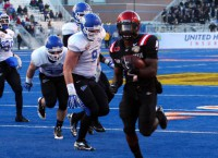 Aztecs rush to Famous Idaho Potato Bowl win
