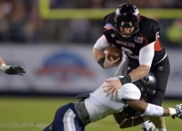 USU slows Lynch, tops NIU in Poinsettia Bowl