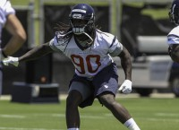 Texans' Clowney on schedule to play in Week 1