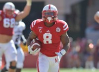 'Huskers roll behind RB Abdullah's 232 yards rushing