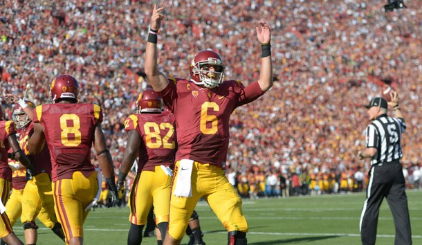 Quarterback Cody Kessler (6) is back to lead an experienced USC offense. Kirby Lee-USA TODAY Sports