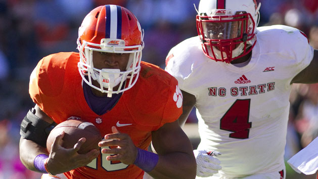 Clemson's leading rusher out for season