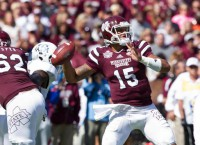Mississippi State blows past Texas A&M 48-31