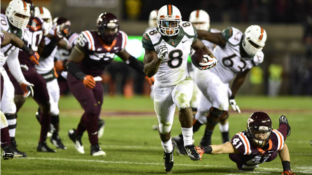 Miami dominates Virginia Tech 30-6