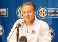 Calipari changes the tenor; Kentucky, LSU tied in SEC