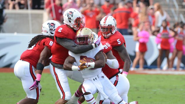 NC State suspends seven players