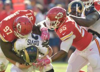 Extra shot of Bailey helping charge Chiefs' defense