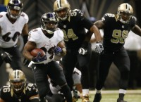Ravens down Saints behind Forsett, big-play defense