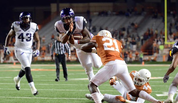 TCU's Trevone Boykin (2) is one of country's most dynamic players. (Brendan Maloney-USA TODAY Sports)