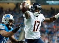Bears WR Jeffery to play Thursday night