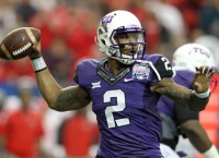 TCU QB Boykin on mend after wrist surgery