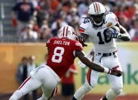 Auburn WR Coates stands tall at Senior Bowl