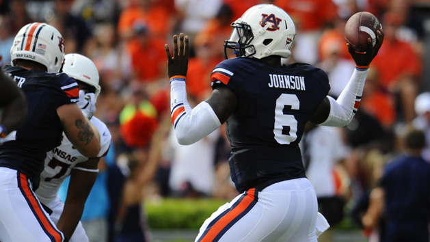 AU's Johnson looking to live up to his No. 1 QB billing