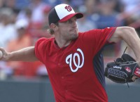 Nationals RHP Scherzer gets Opening Day start
