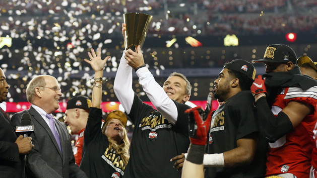 Ohio State first unanimous No. 1 in AP poll