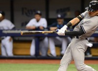 Ellsbury out of Yankees lineup with hip soreness