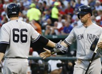 Yankees O goes nuts in 21-5 win over Texas