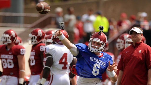Mayfield will start at QB for Oklahoma