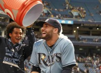 Kiermaier takes matters into own hands for Rays