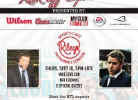 Join Lindy's UK rep Simon Milham at Riley's Sept. 10