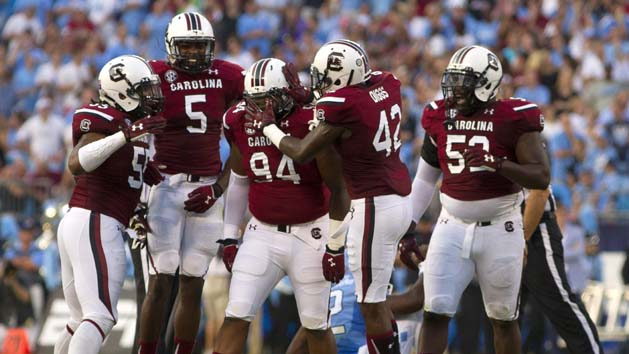Gamecocks defeat Heels in Palmetto State battle