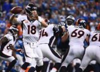 Broncos pull away from Lions, move to 3-0
