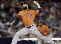 Astros advance to ALDS behind Keuchel, key HRs