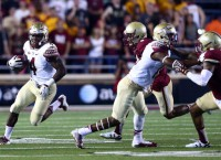 No. 1 Seminoles RB Cook is day-to-day