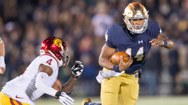 No. 14 Notre Dame powers by USC for 41-31 win