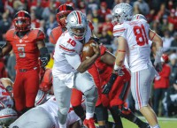 No, 1 Ohio State drills Rutgers 49-7 behind Barrett