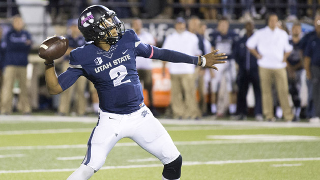 Utah State rolls over No. 21 Boise State 52-26