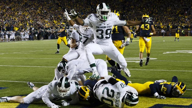 First & 20: Chaos reigns as Michigan fumbles away W