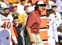 Spurrier stepping down at South Carolina