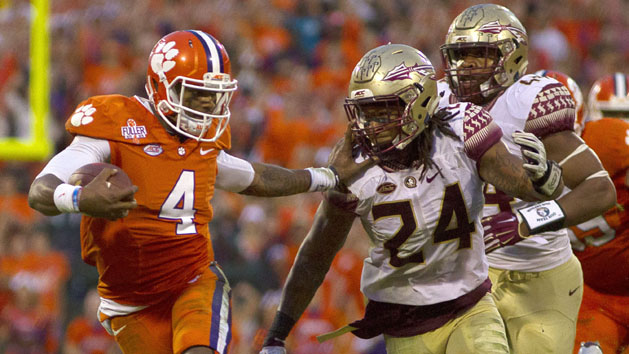 Clemson No. 1, Alabama No. 2 in CFP rankings