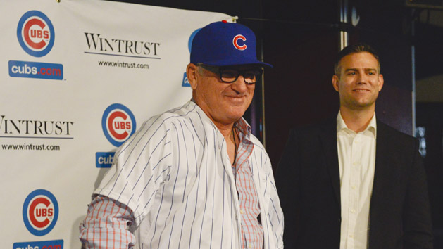 Maddon named NL Manager of the Year