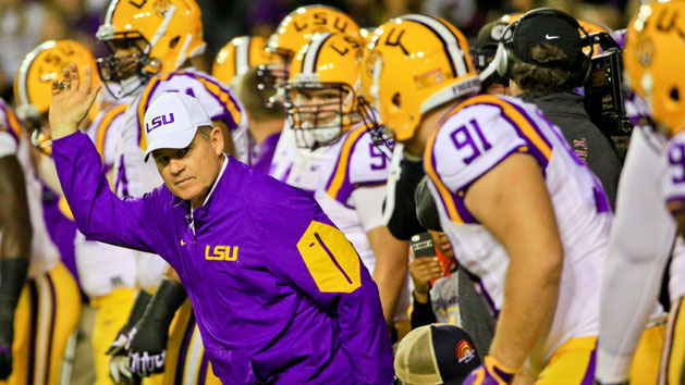 Miles stoic as spilt with LSU looms