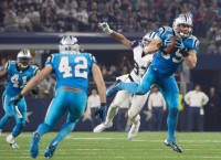 Romo hurt again in Panthers' dominant W over Dallas