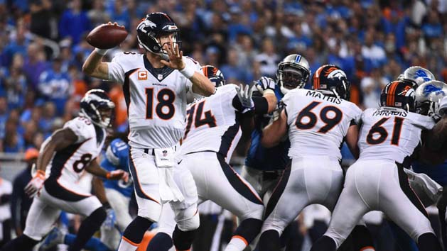 NFL Notes: Manning not making trip to Chicago