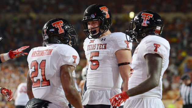 Texas Tech's powerful offense keys win over Texas