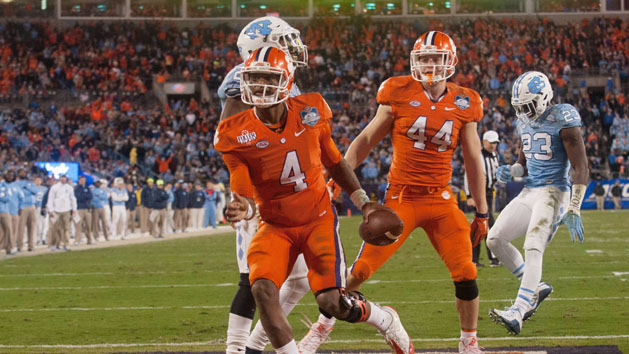 One of a kind: Watson leads Clemson to new heights