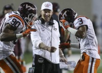 Virginia Tech wins wild one in Beamer's last game