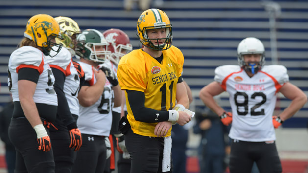 Five Studs (and duds) from Senior Bowl practice