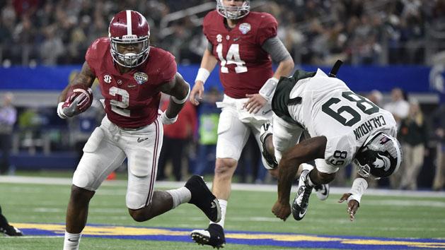 FBS Notebook: Alabama's Henry entering NFL Draft