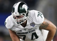 Michigan State OT Conklin declares for NFL