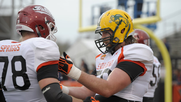 Senior Bowl: Offensive line fires back in North practice