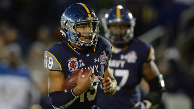 Shrine Game: Navy's Reynolds looks natural at RB