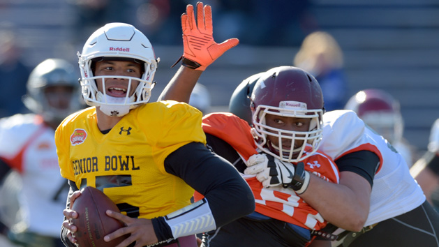 Spence among Senior Bowl standouts