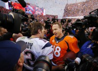 Manning, Broncos' D spark win over Pats